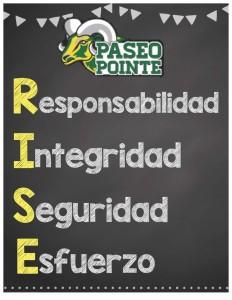 Rise Poster spanish